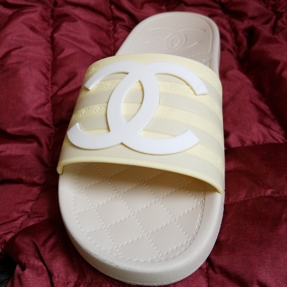 CHANEL Shoes | Chanel Pool Slippers